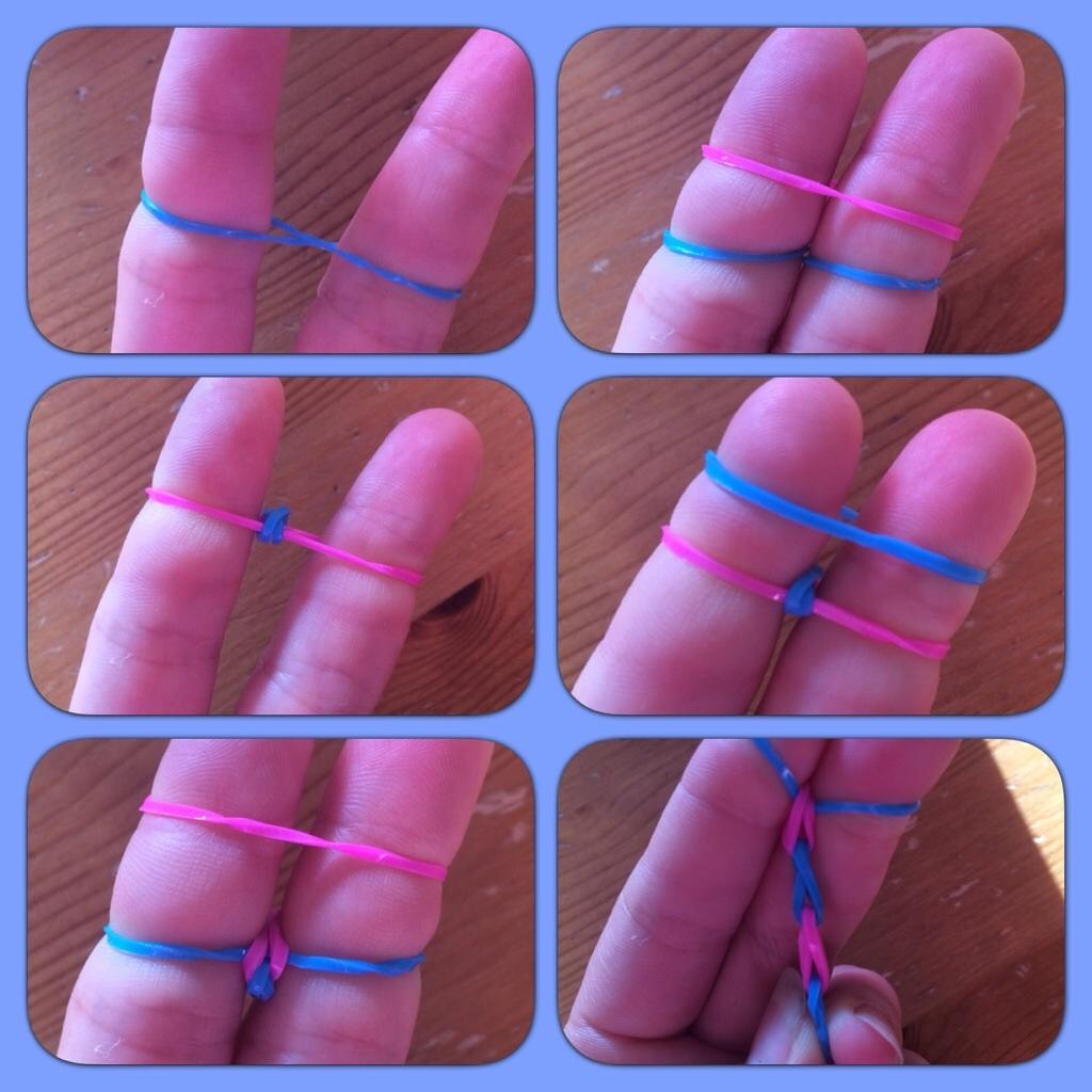Как сплести браслеты из резинок схемы и фото
