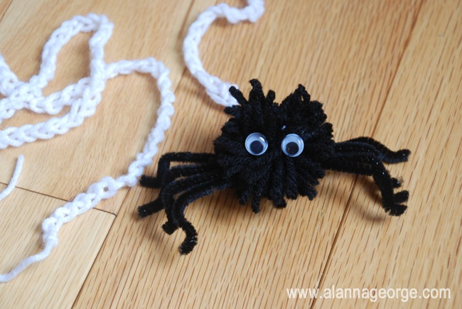 How To Yarn Spider and Web