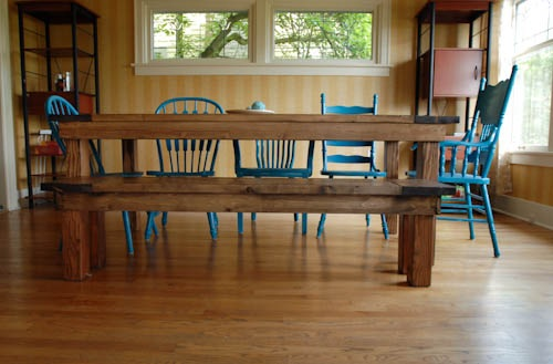 Bench for Farmhouse Table