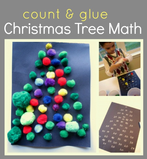 Craft by Numbers Christmas Tree