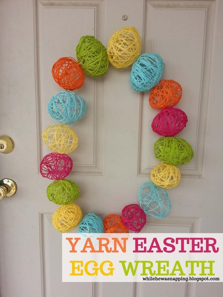 Easter Egg Wreath - CraftSmile