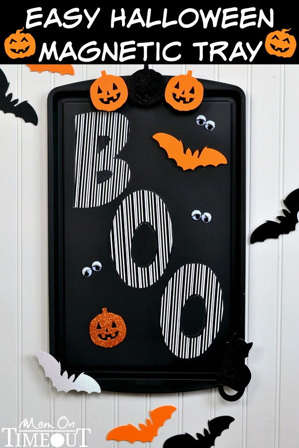 Easy Halloween Magnetic Tray