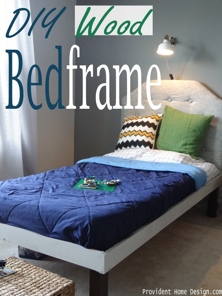 DIY Wood Bedframe