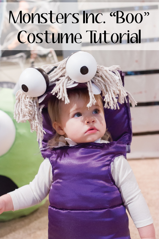 Monsters Inc. ??Boo?? Costume DIY