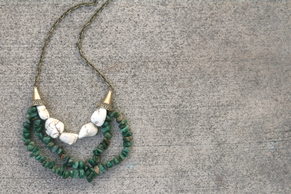How-to make a multi-strand necklace