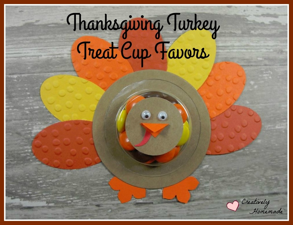 Cute Turkey Thanksgiving Favors for Kids