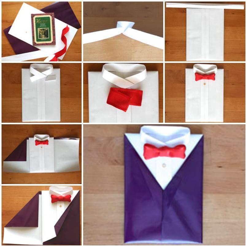 Как красиво и оригинально упаковать подарок подборка