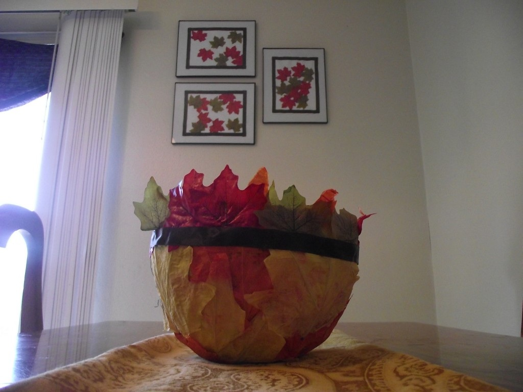 Paper Craft How to Make a Paper Mache Bowl