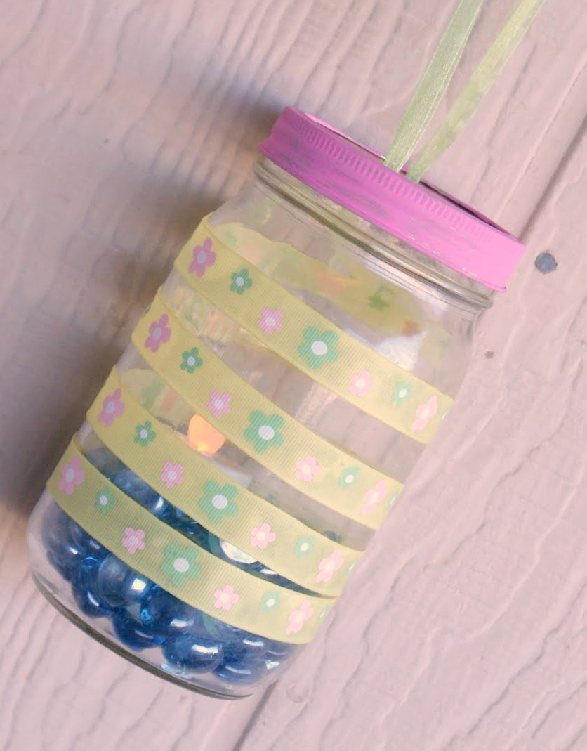 Thrifty Thursday Revamping the Mason Jar for Spring