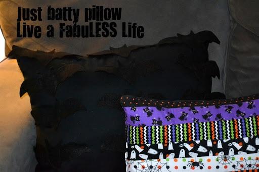 Just Batty Pillow