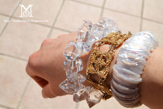 Thursday, september 20, 2012 recycle & reuse : how to make a crystal bracelet with vase fillers