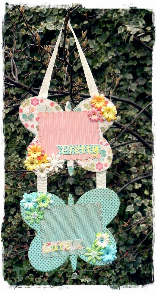Butterfly Wall Hanging Frame