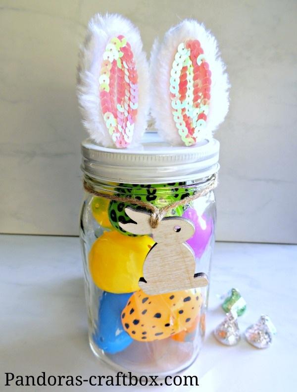 Mason Jar Easter Crafts Pandora's Craft Box