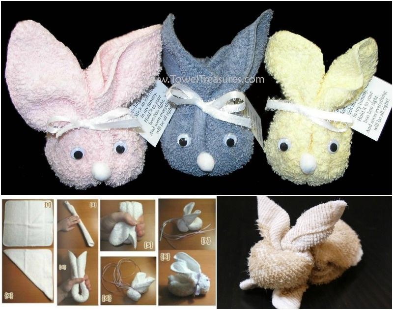 Cute Towel Bunny