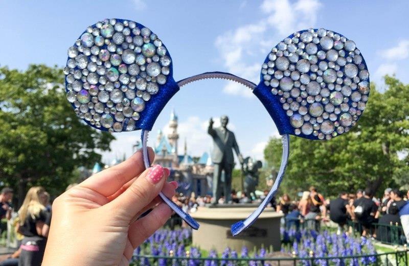 DIY #Disneyland60 Diamond Mickey Ears