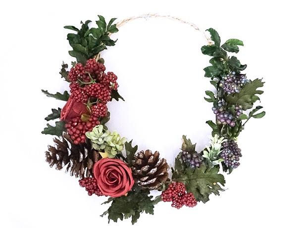 Easy DIY Mini Wreath