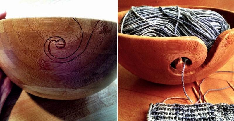 How to Make Bamboo Yarn Bowl