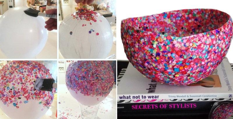 How to Make Confetti Bowl