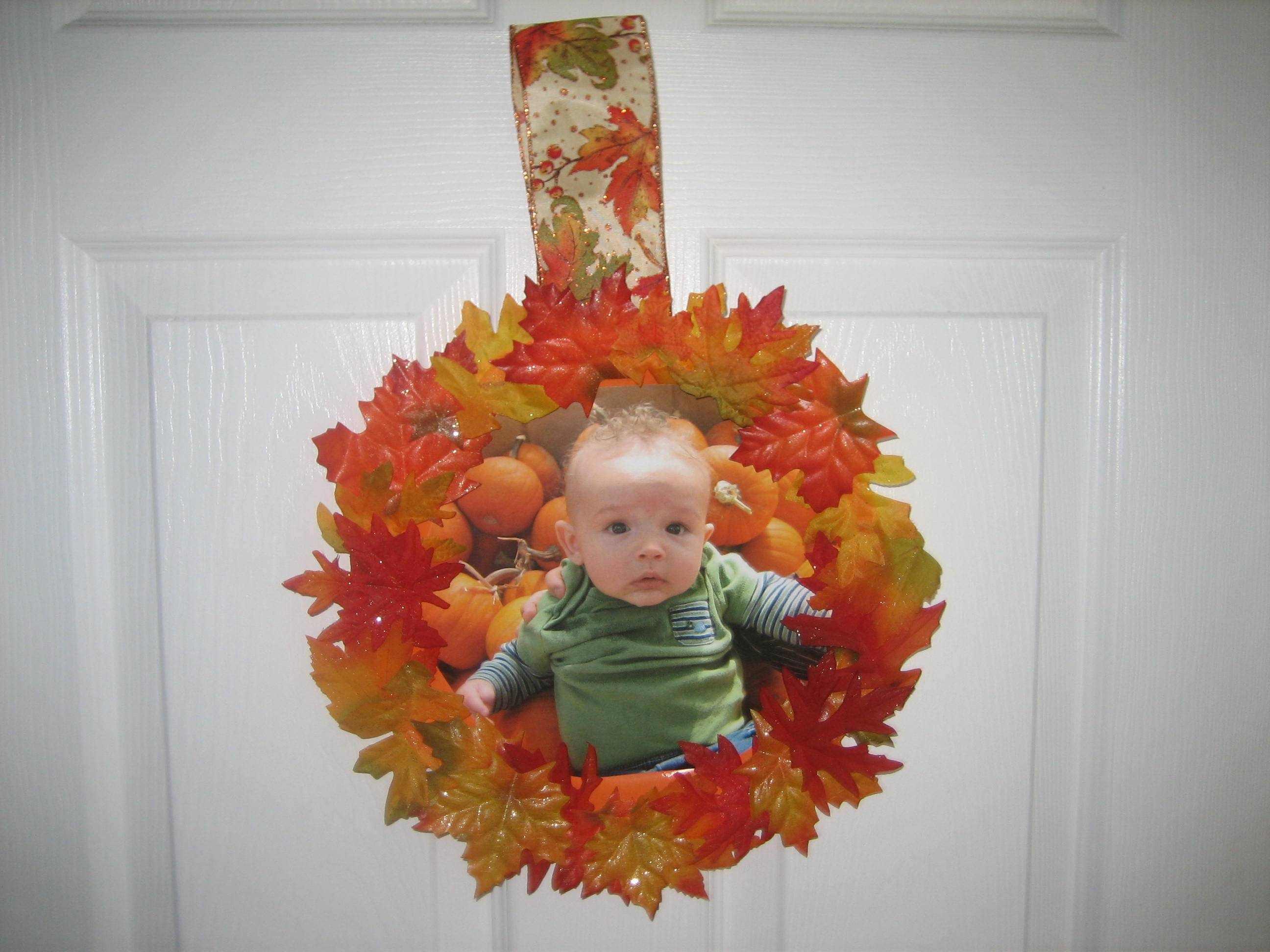 Fall Craft An Easy Wreath