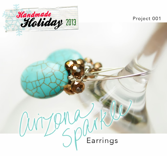 Arizona sparkle earrings