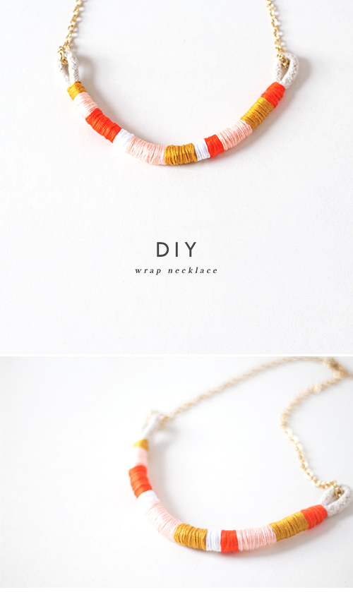 Easiest necklace ever