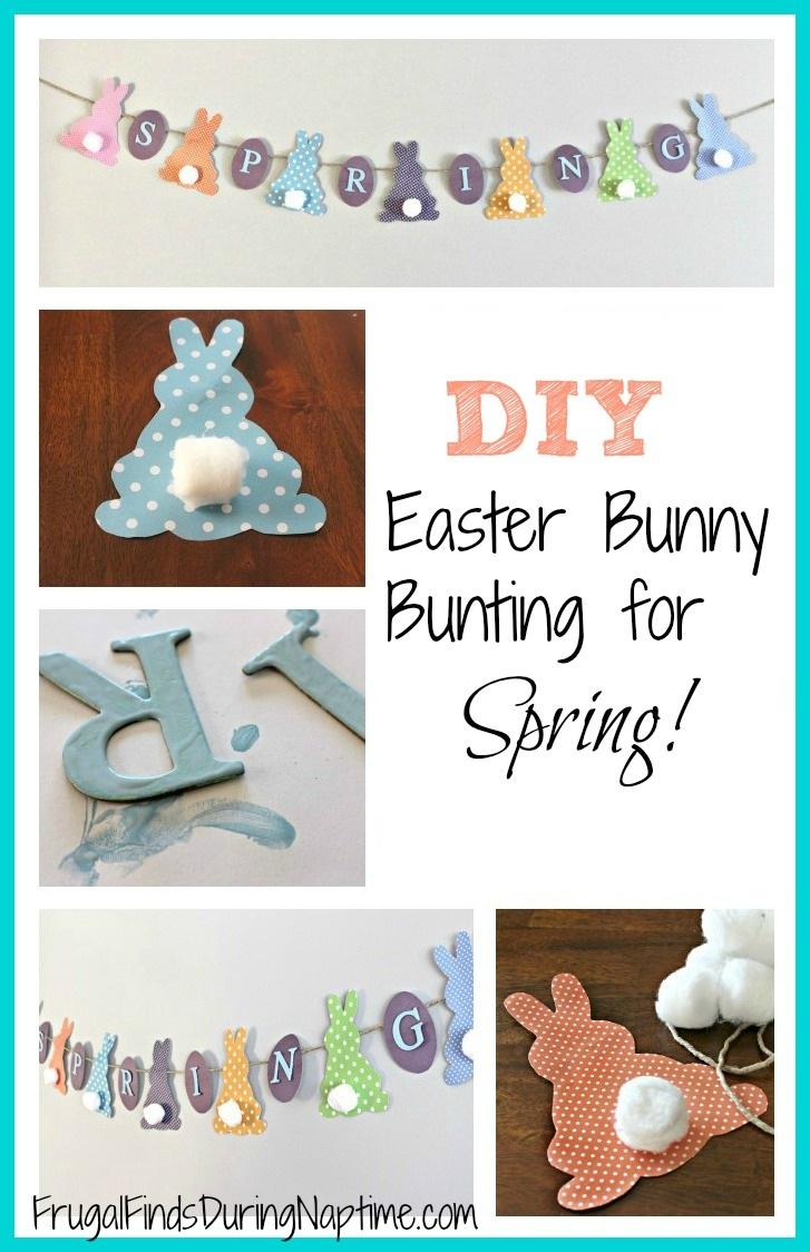DIY Easter Bunny Bunting