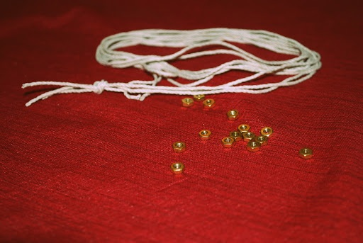 DIY Hex Nut Braided Bracelet