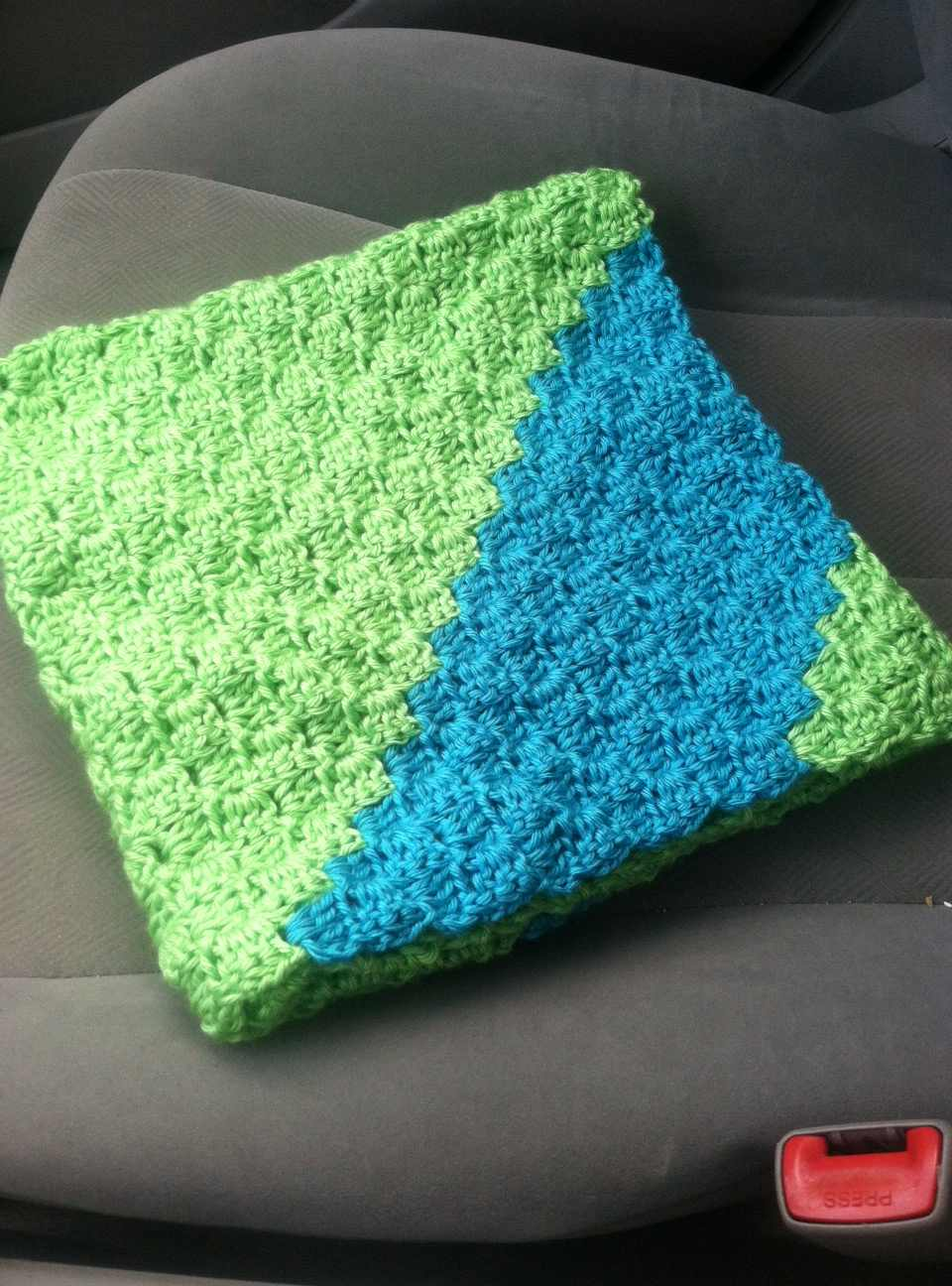 Sideways Box Stitch Crochet Blanket - CraftSmile