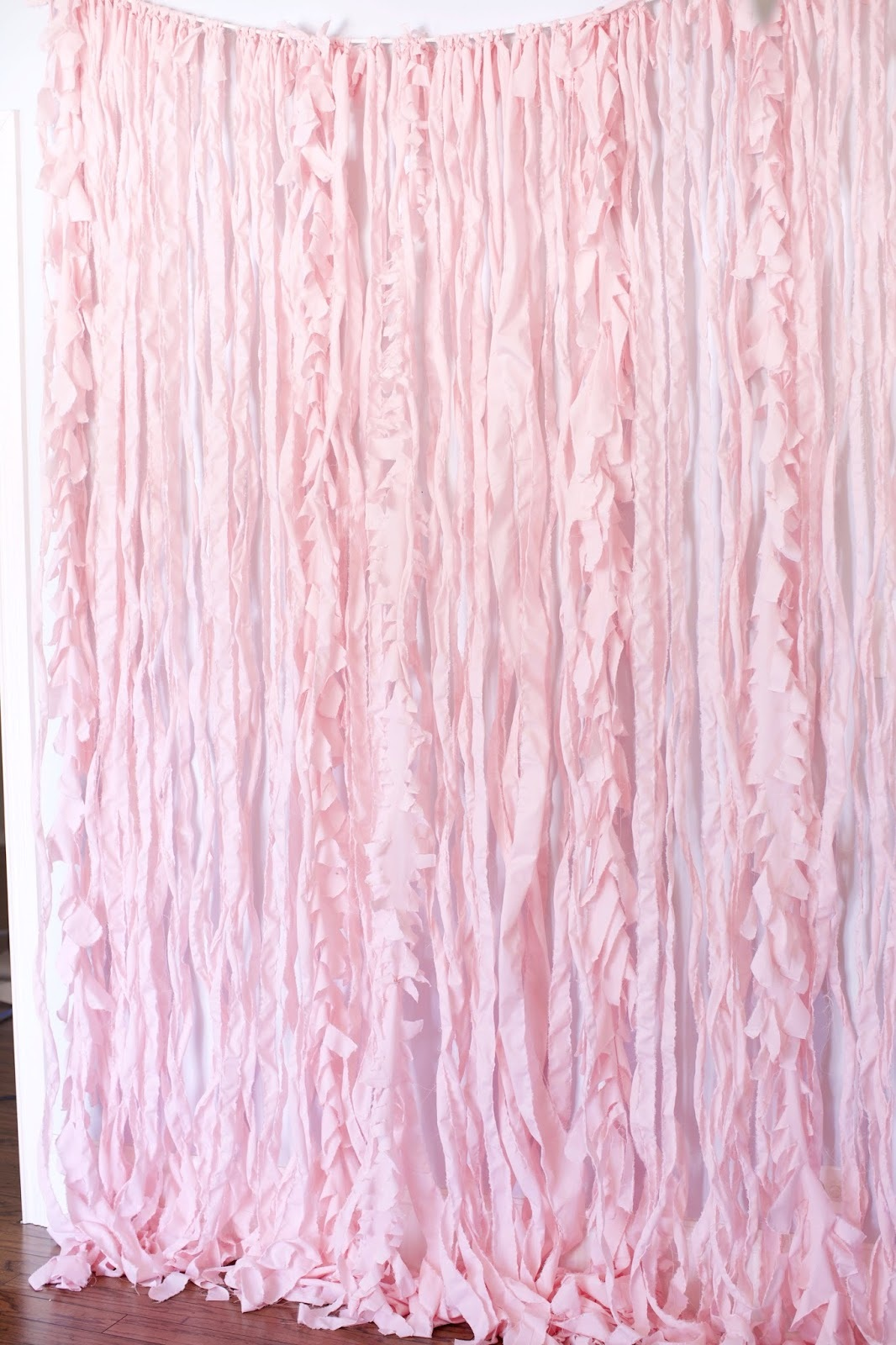 diy fabric photo backdrop
