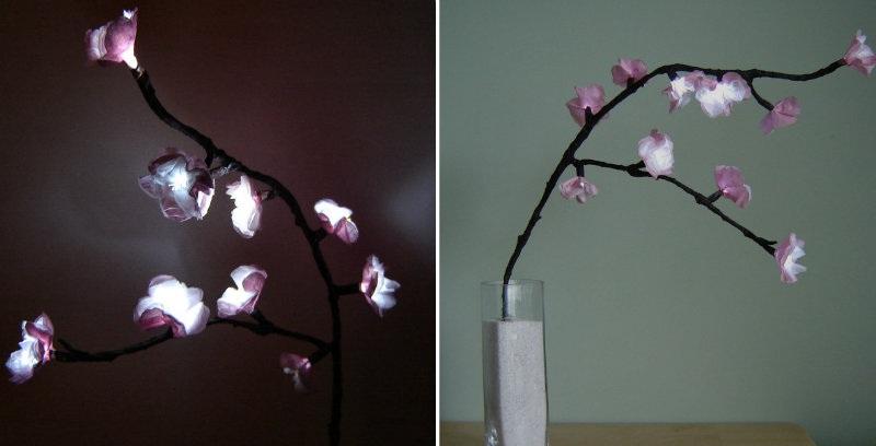 How to Make Cherry Blossom LEDs Lights