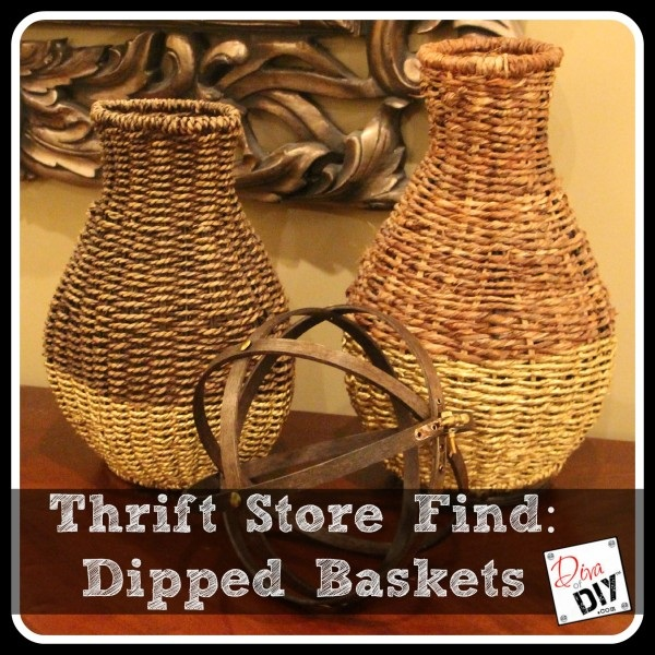 Make Dipped Baskets Work for Your Homes Decor