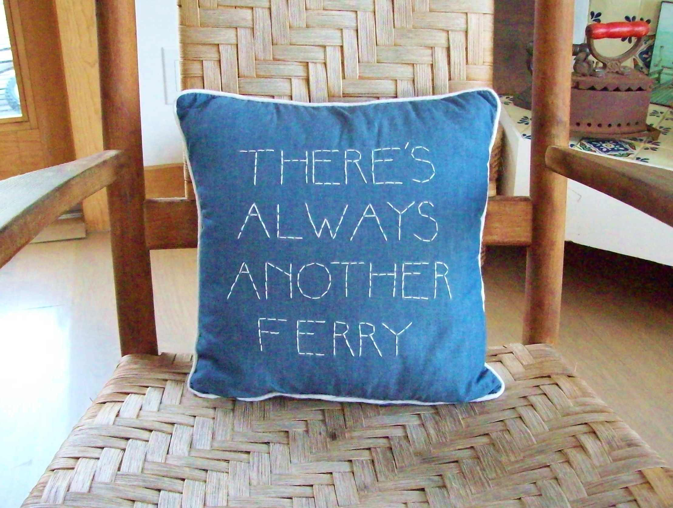 DIY Beachy Keen Pillows