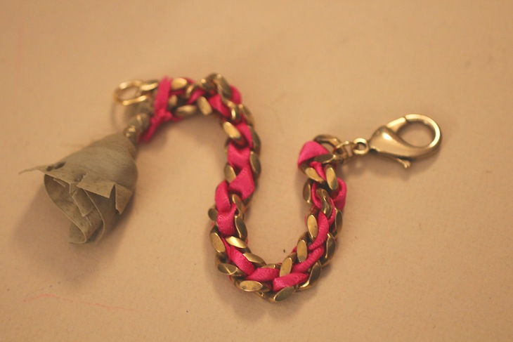 Diy:  isabel marant inspired tassel bracelet