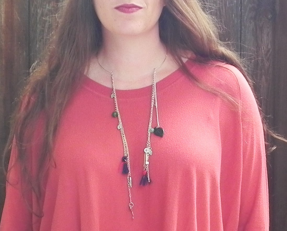 Smart n snazzy: DIY ~ open metal tassel collar necklace