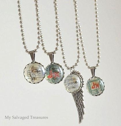 Flat back marble Jewelry Pendants My Repurposed Life?