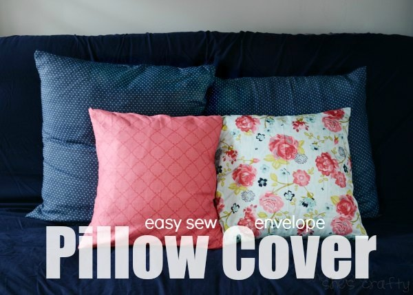 Easy Sew Pillow Cover
