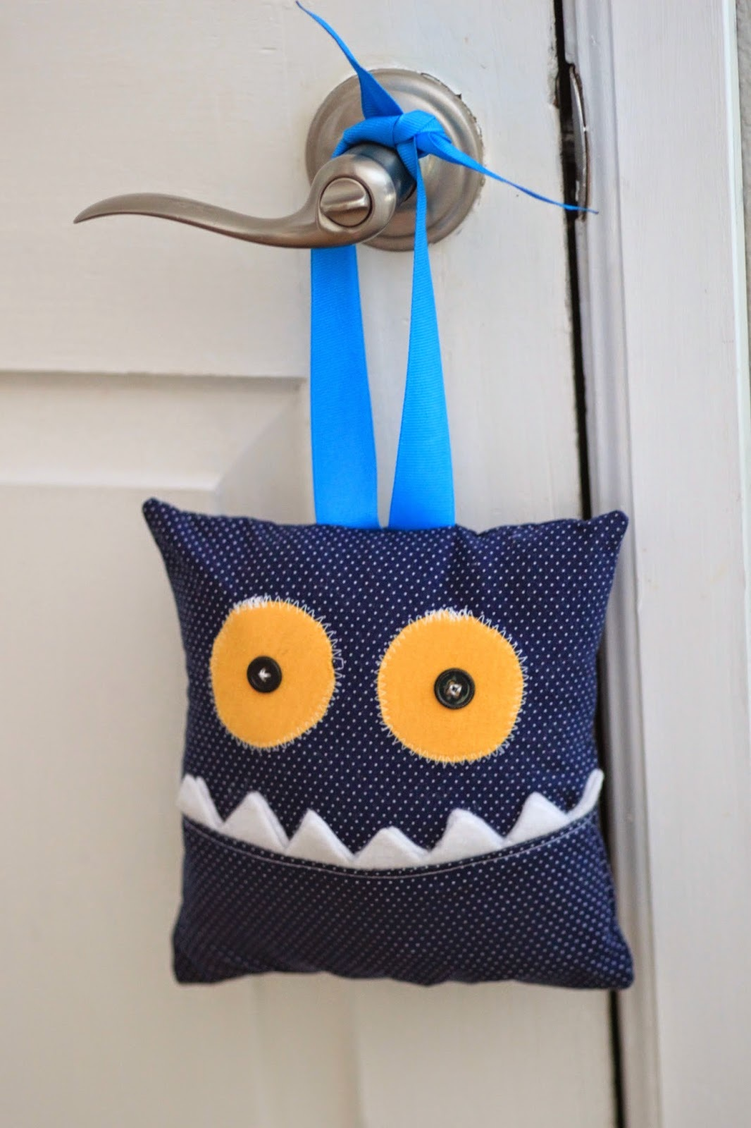 Tooth Monster Pillow