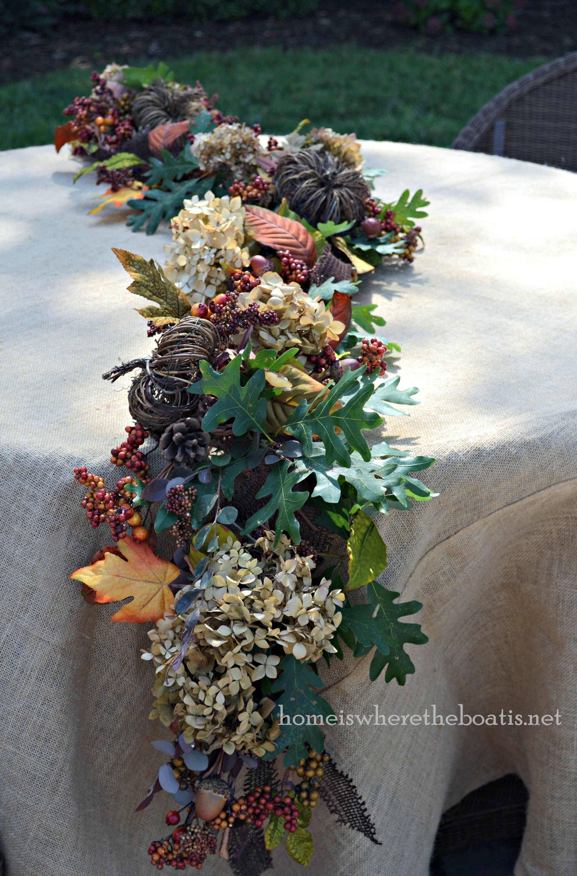 Enhancing Fall Garland