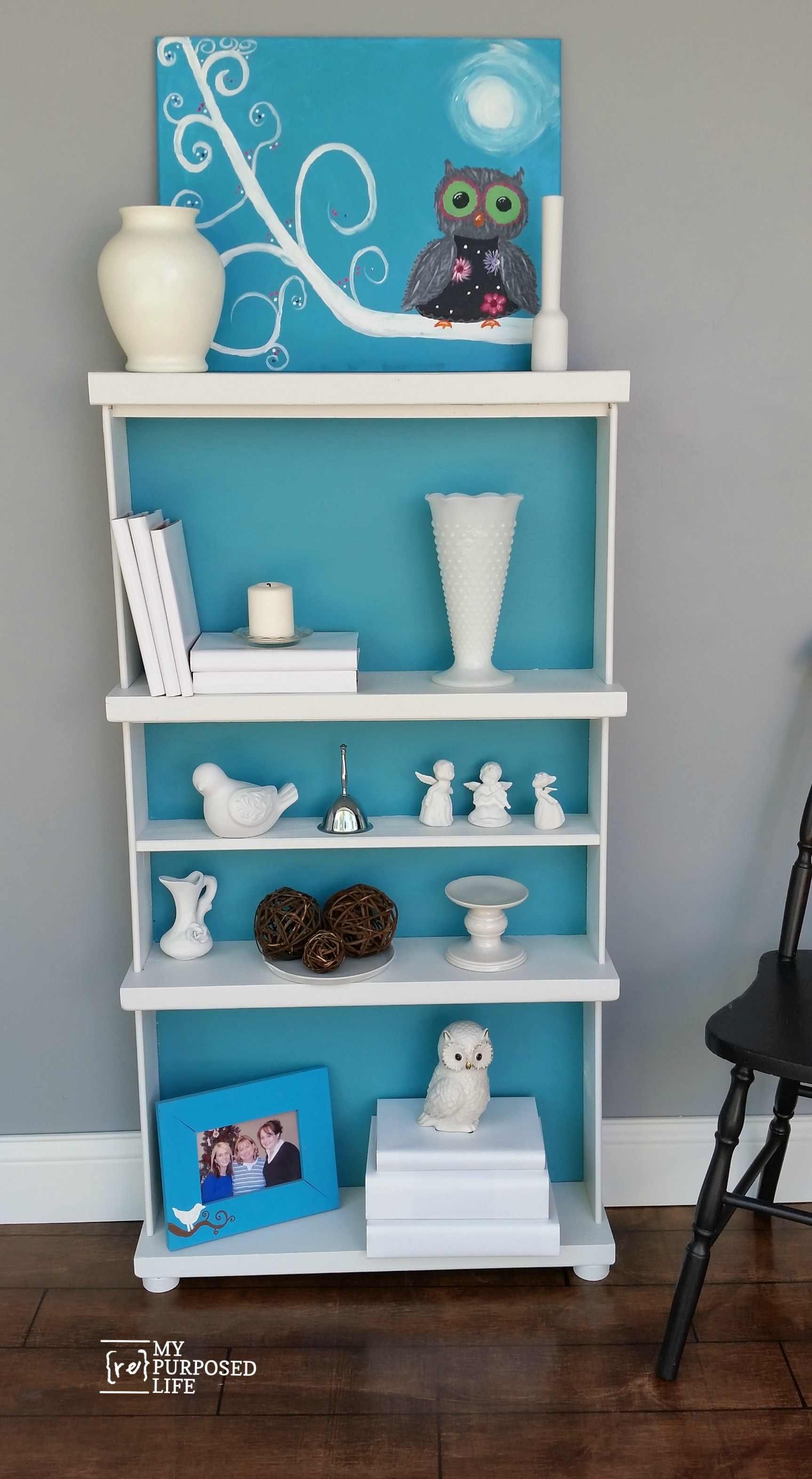 Repurposed Drawers Bookcase My Repurposed Life?