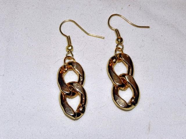 Smart n snazzy: DIY  chain link earrings