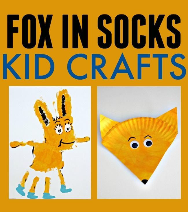 Fox in Socks Dr. Seuss Kid Crafts