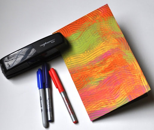 Textured Acrylic Notebook Covers