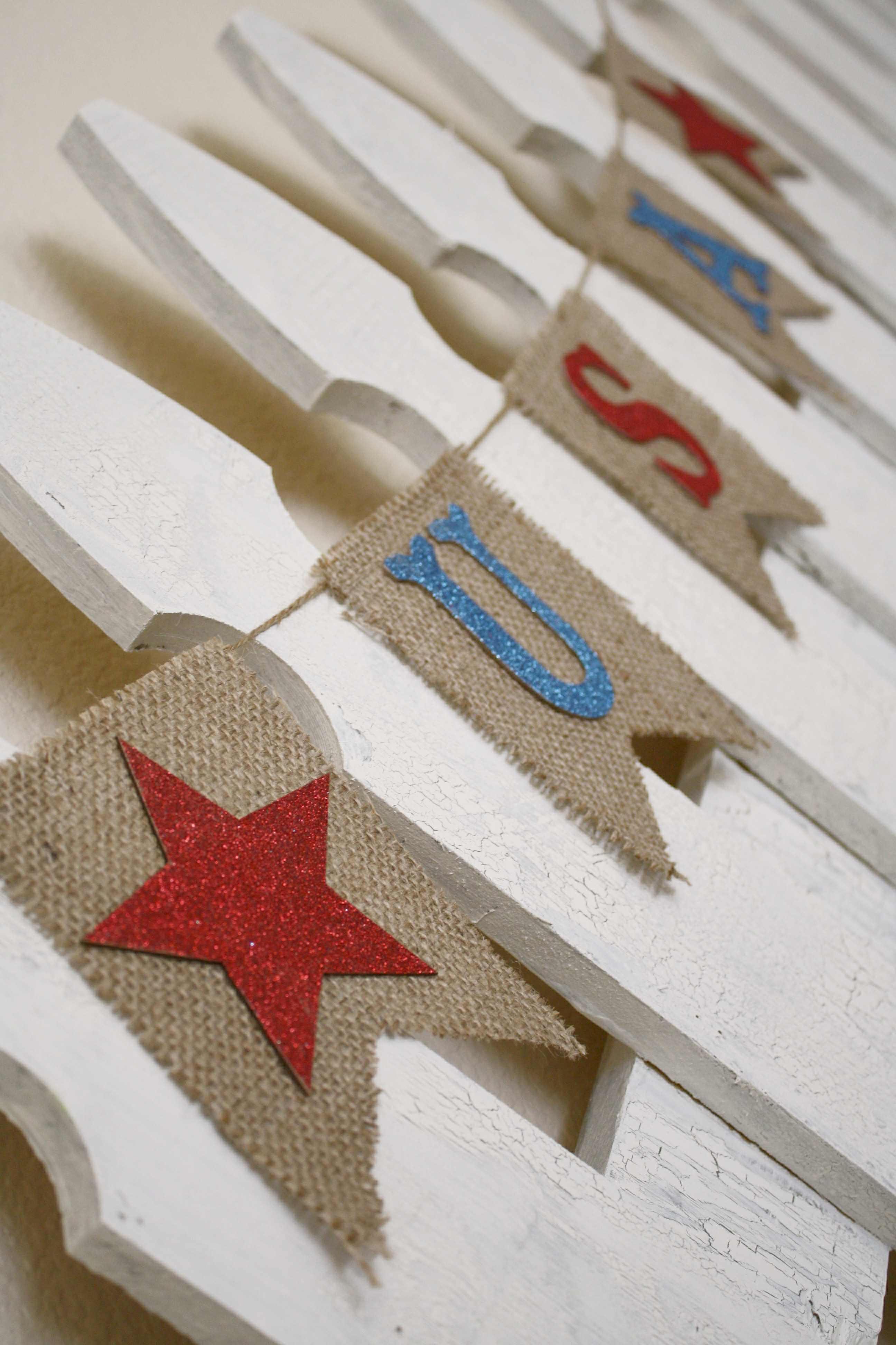 USA Pennant Banner