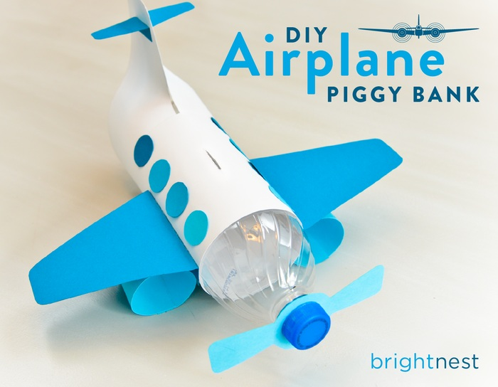 For kids make a unique piggy bank out of a plastic bottle for Make a piggy bank craft