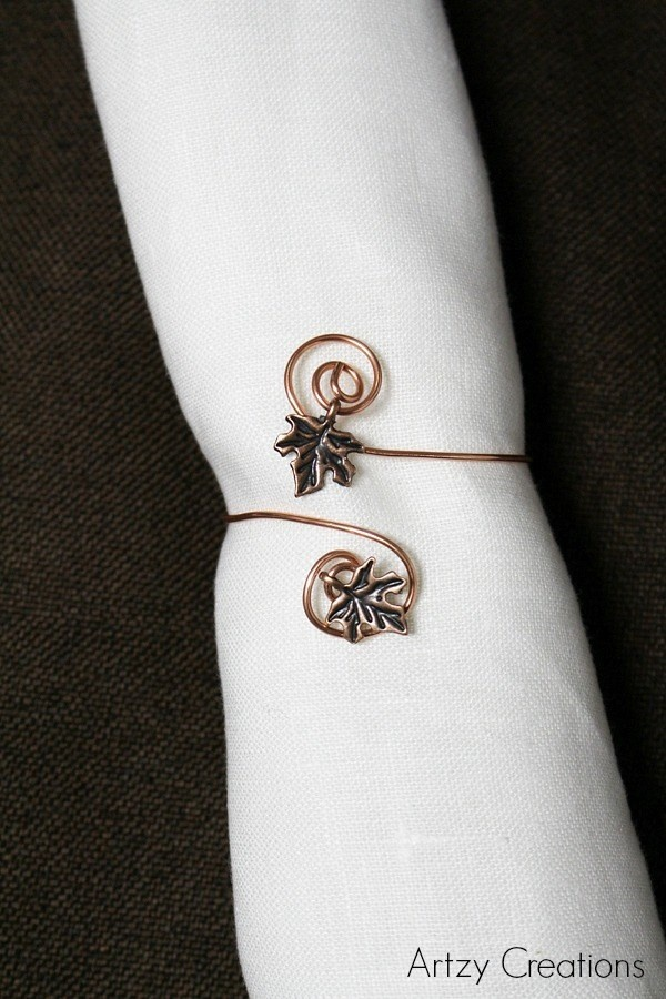 5 Minute Napkin Rings For Less Than A Dollar