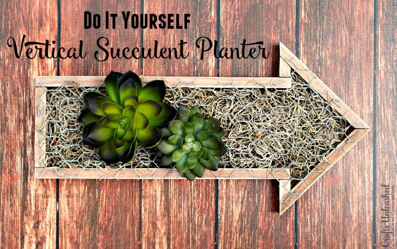 DIY Succulent Planter Vertical Garden
