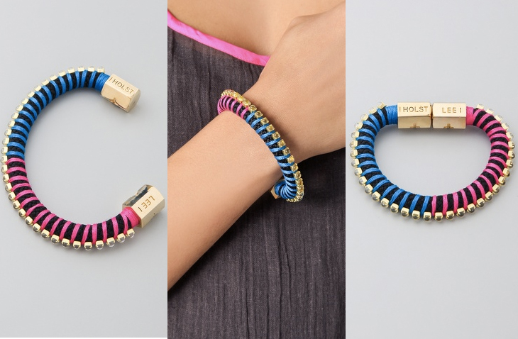 Diy: holst lee inspired rope bracelet