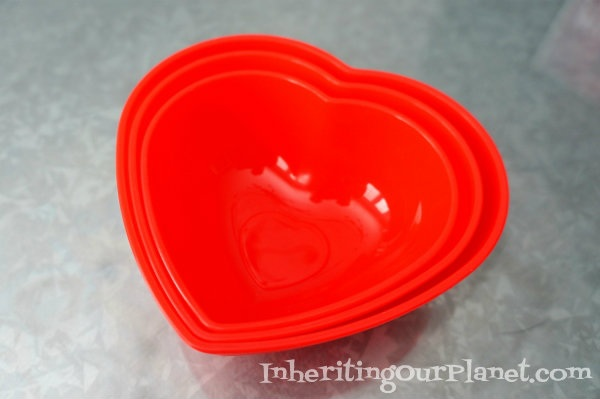 Recycled Jar Valentine Candy Bowls