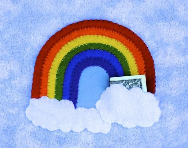 Tooth Fairy Pillow Pattern Rainbow Pillow