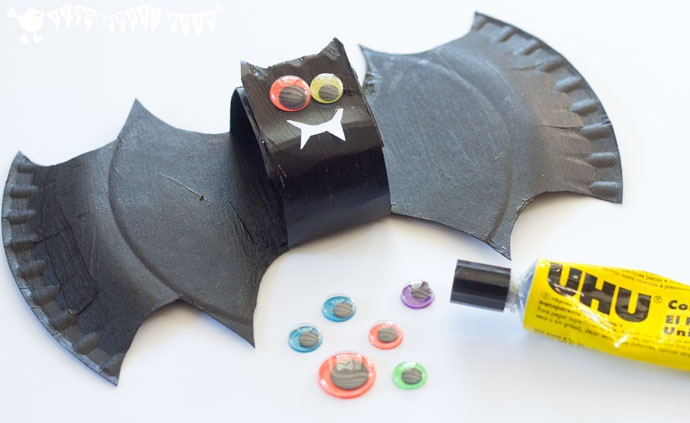 Paper Plate Bat Craft And Mobile
